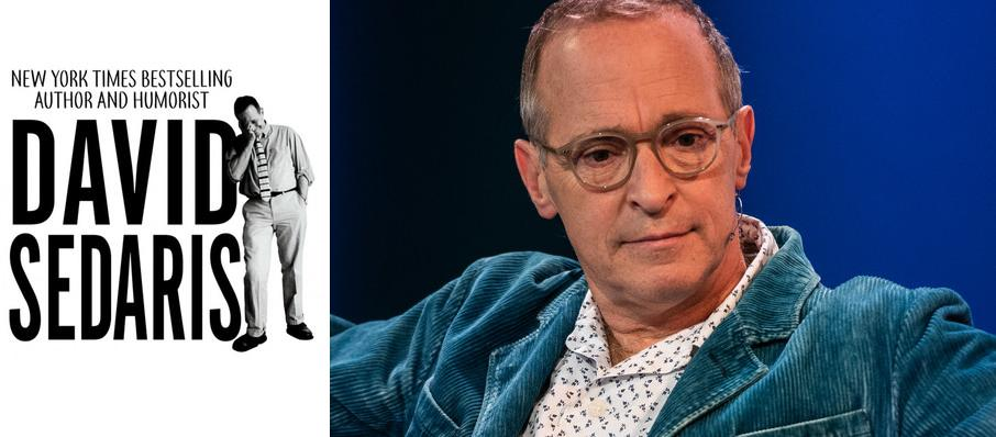 David Sedaris at Clowes Memorial Hall