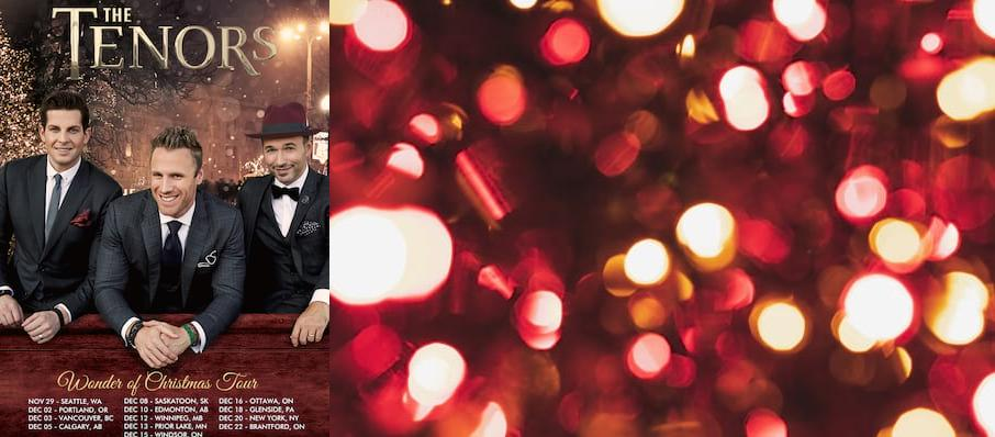 The Tenors at Clowes Memorial Hall