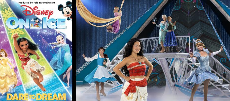 Disney On Ice: Dare To Dream at Bankers Life Fieldhouse