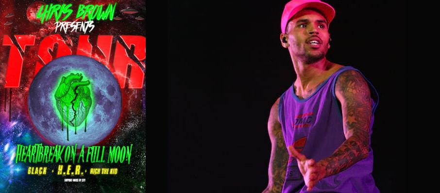 Chris Brown at Bankers Life Fieldhouse