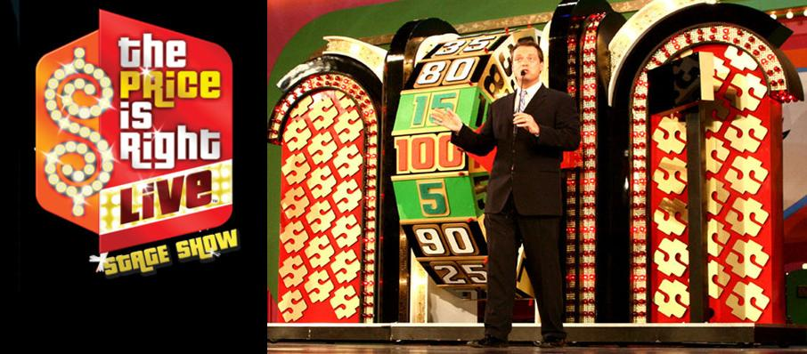 The Price Is Right - Live Stage Show at Clowes Memorial Hall
