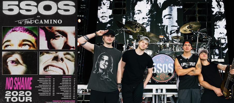 5 Seconds of Summer at The Lawn