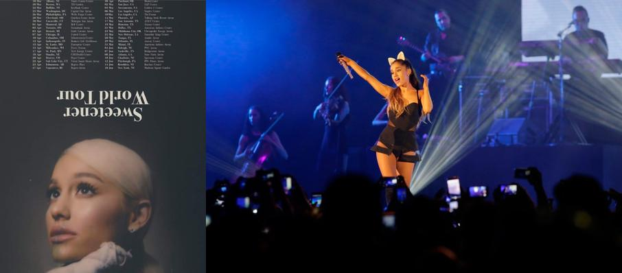 Ariana Grande at Bankers Life Fieldhouse