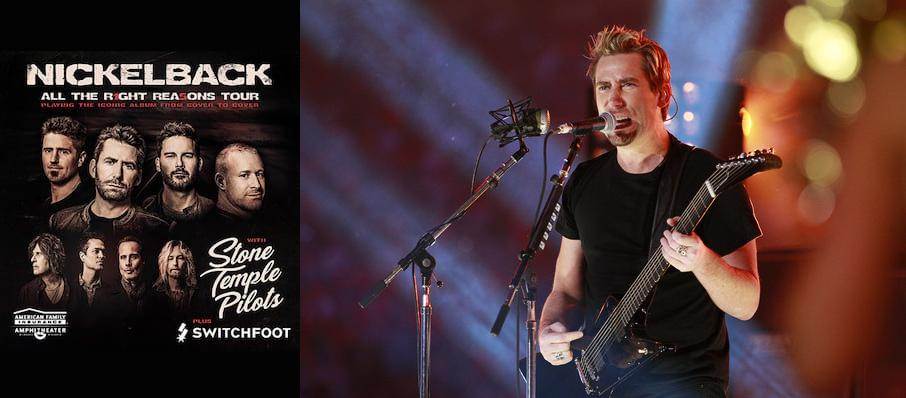 Nickelback at Ruoff Music Center