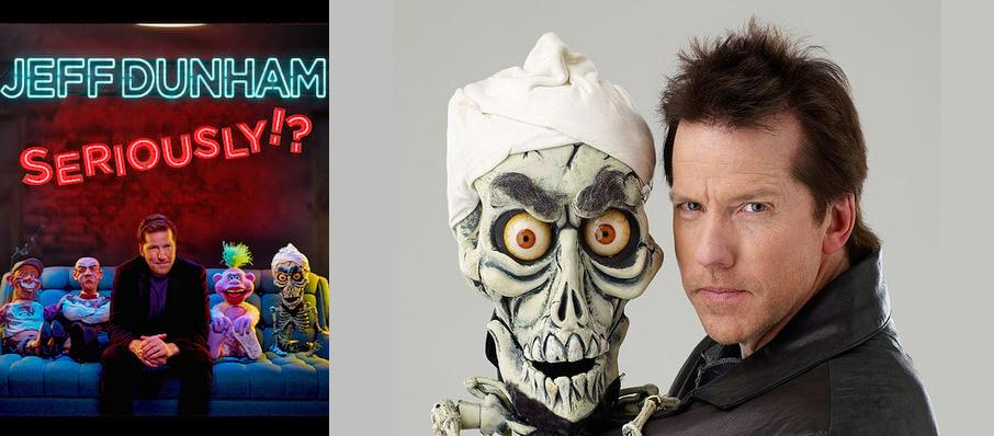 Jeff Dunham at Bankers Life Fieldhouse