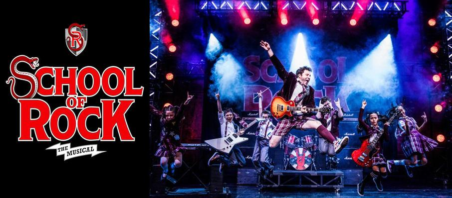 School of Rock at Clowes Memorial Hall