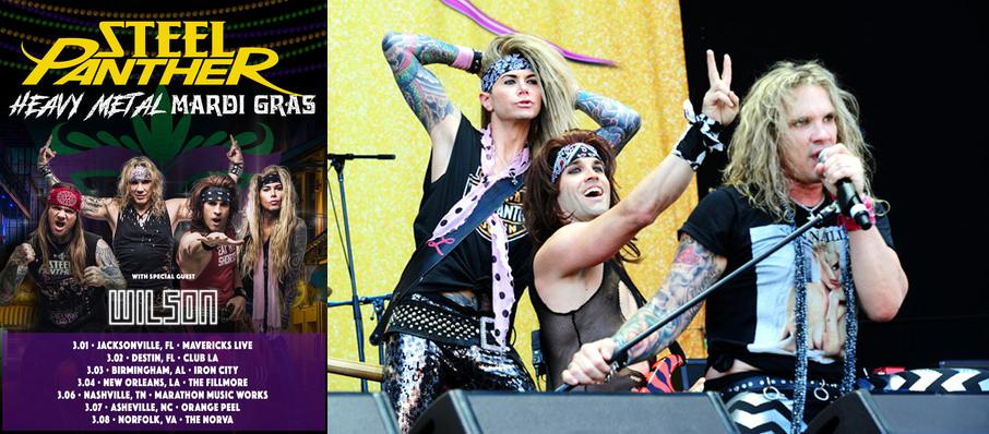 Steel Panther at Egyptian Room