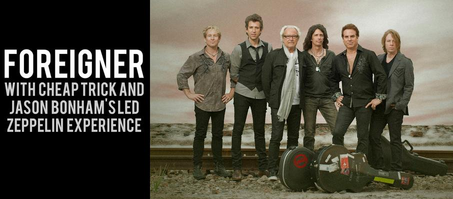 Foreigner with Cheap Trick and Jason Bonhams Led Zeppelin Experience at Klipsch Music Center