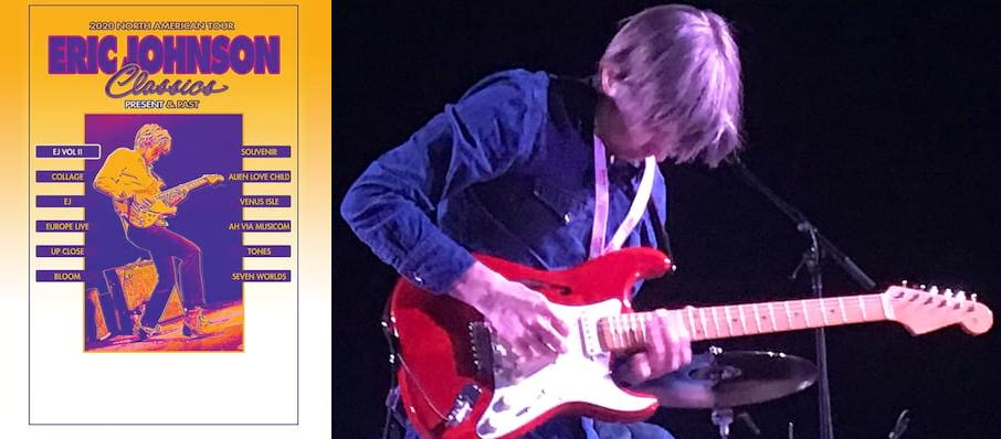 Eric Johnson at Vogue Theatre