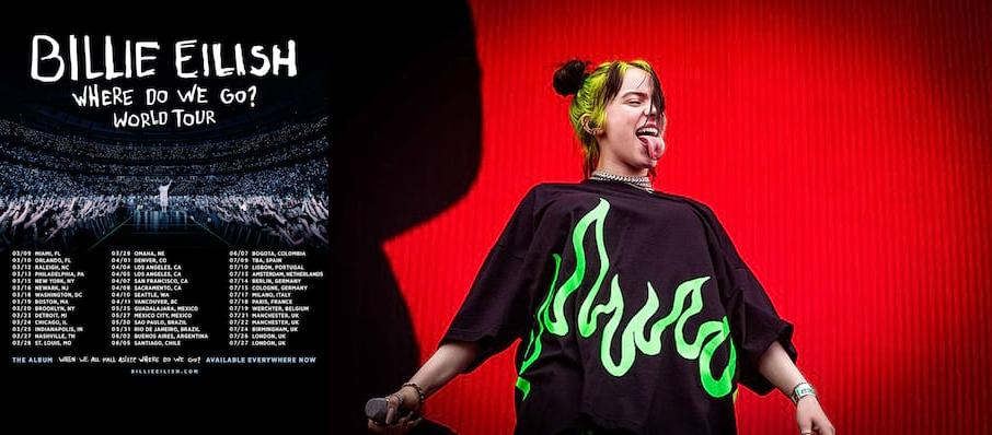 Billie Eilish at Bankers Life Fieldhouse