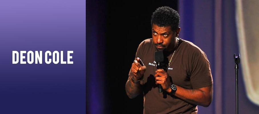 Deon Cole at Egyptian Room