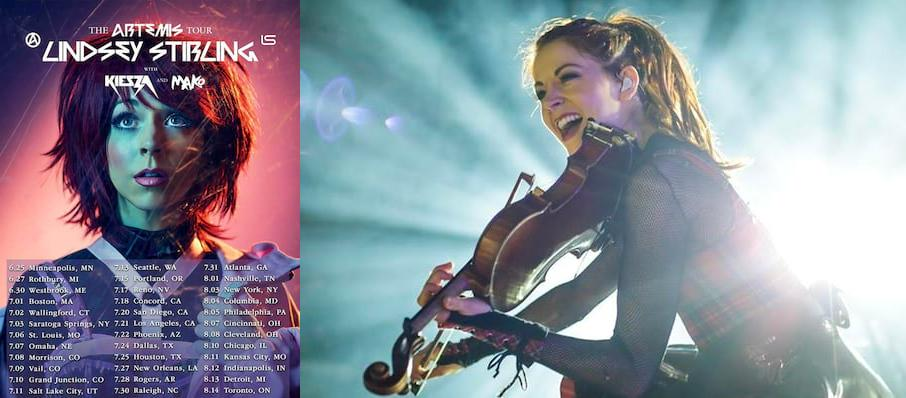 Lindsey Stirling at The Lawn