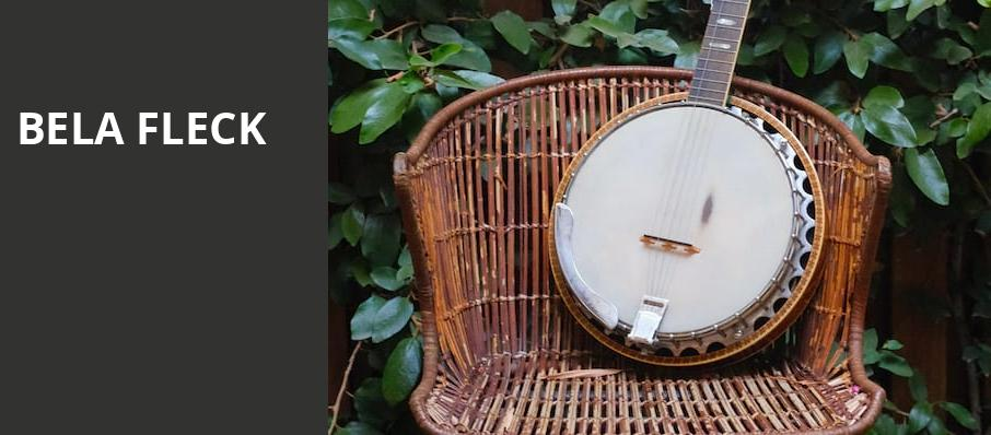 Bela Fleck, Clowes Memorial Hall, Indianapolis