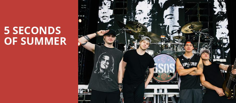 5 Seconds of Summer, The Lawn, Indianapolis