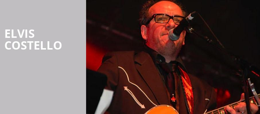 Elvis Costello, Murat Theatre, Indianapolis