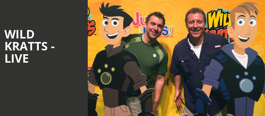 Wild Kratts Live, Clowes Memorial Hall, Indianapolis