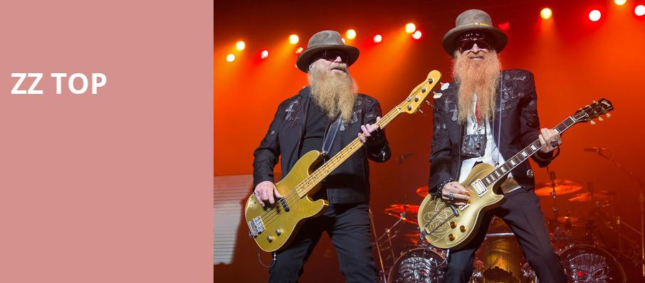 ZZ Top, Clowes Memorial Hall, Indianapolis