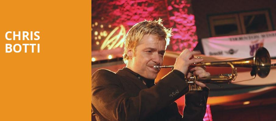 Chris Botti, The Palladium, Indianapolis