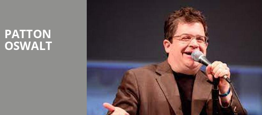 Patton Oswalt, Clowes Memorial Hall, Indianapolis