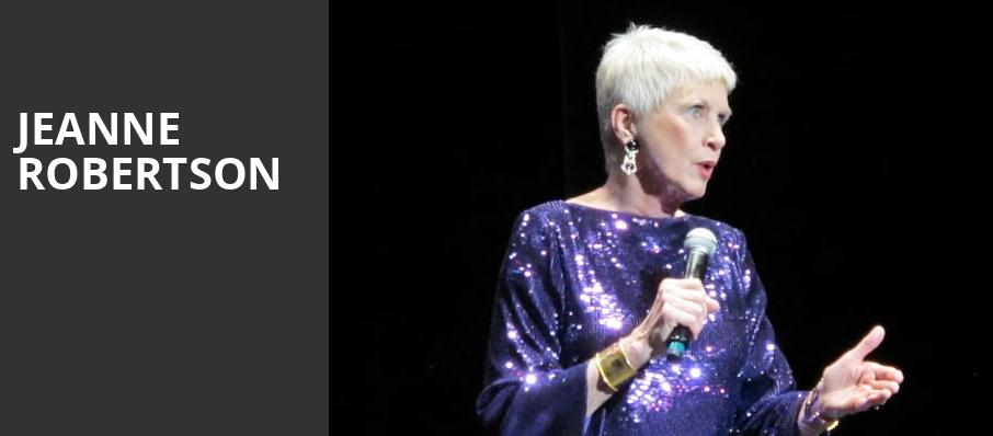 Jeanne Robertson, Clowes Memorial Hall, Indianapolis