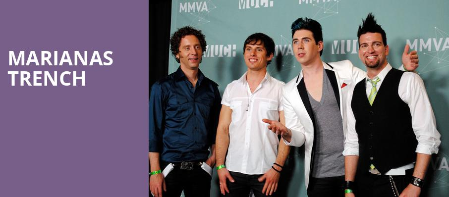 Marianas Trench, Egyptian Room, Indianapolis