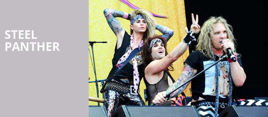 Steel Panther, Egyptian Room, Indianapolis