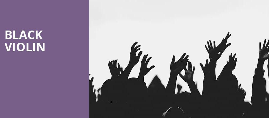 Black Violin, Clowes Memorial Hall, Indianapolis