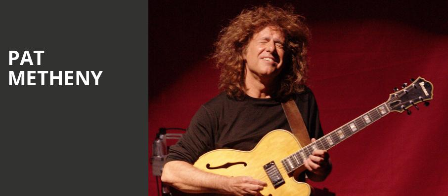 Pat Metheny, The Palladium, Indianapolis