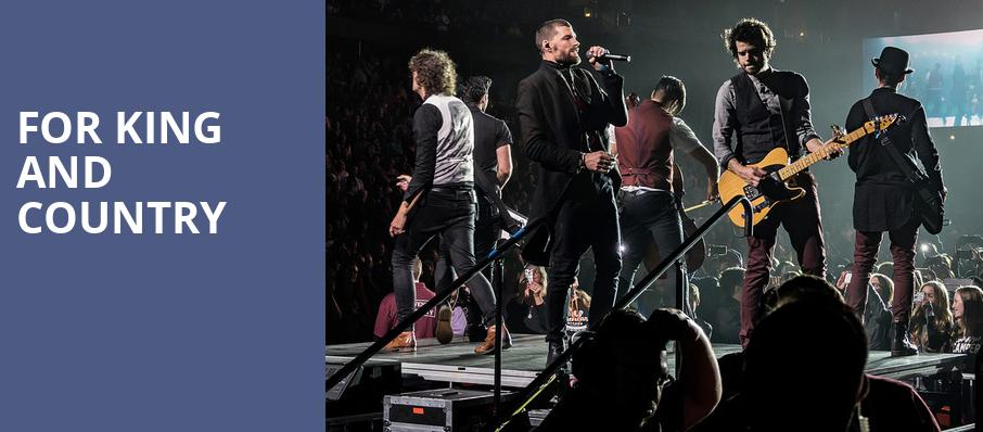 For King And Country, Bankers Life Fieldhouse, Indianapolis