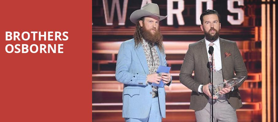 Brothers Osborne, Egyptian Room, Indianapolis