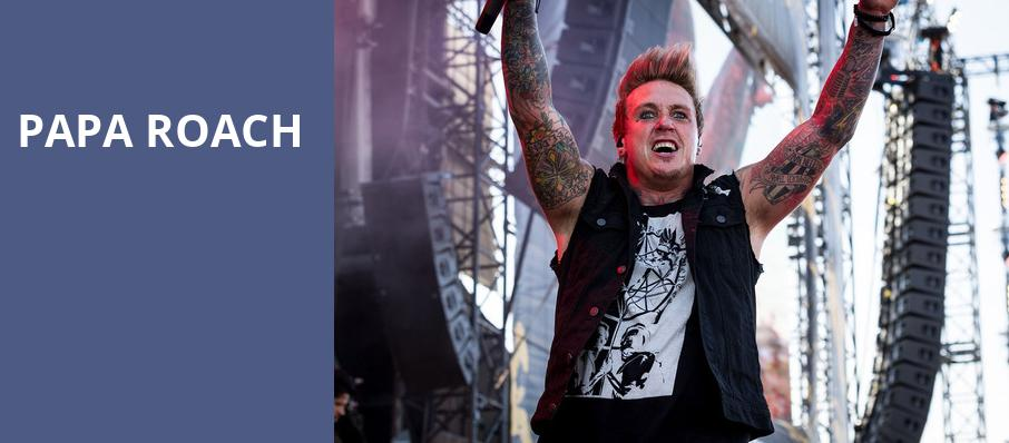 Papa Roach, The Lawn, Indianapolis