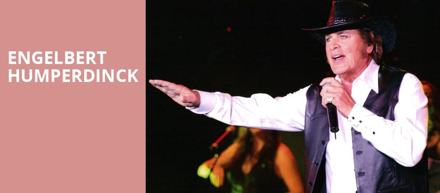 Engelbert Humperdinck, The Palladium, Indianapolis