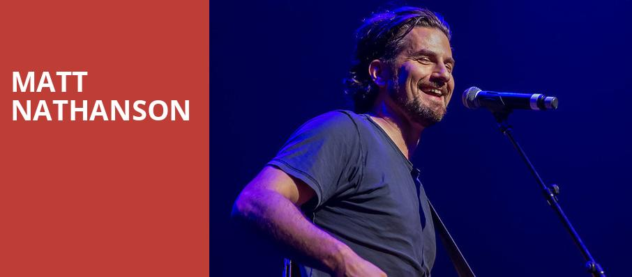 Matt Nathanson, The Hi Fi, Indianapolis
