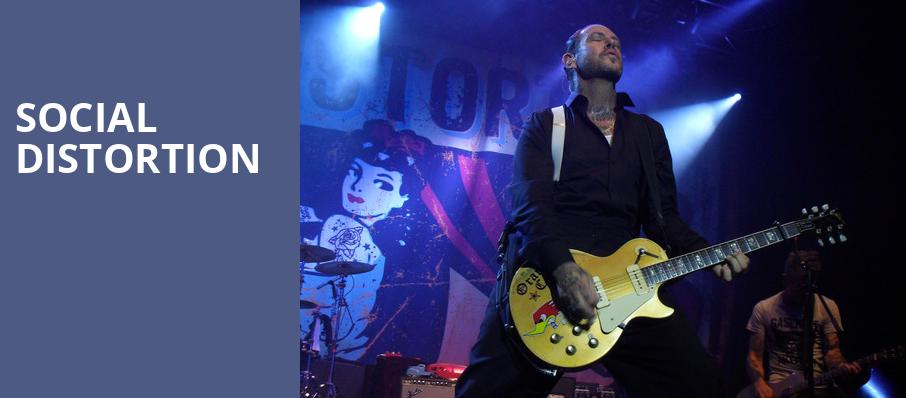 Social Distortion, Egyptian Room, Indianapolis
