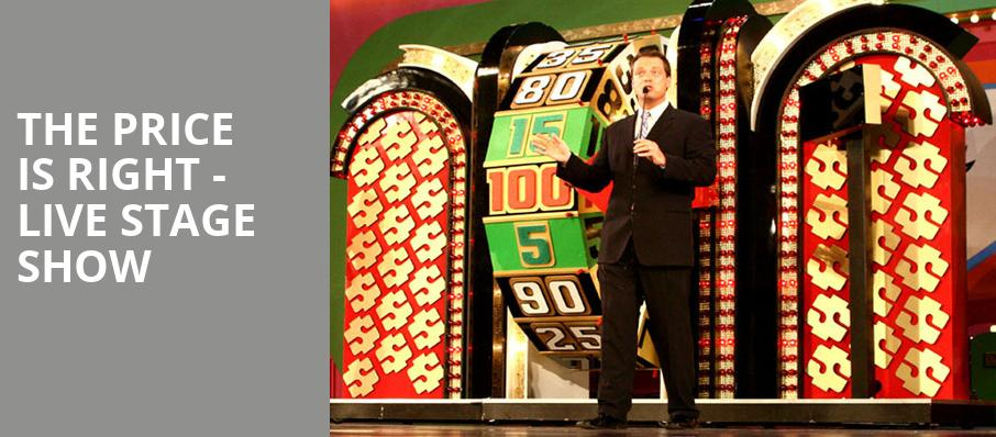 The Price Is Right Live Stage Show, Clowes Memorial Hall, Indianapolis