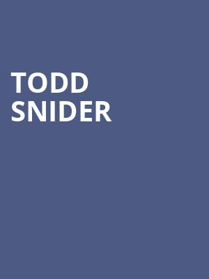 Todd Snider, Vogue Theatre, Indianapolis